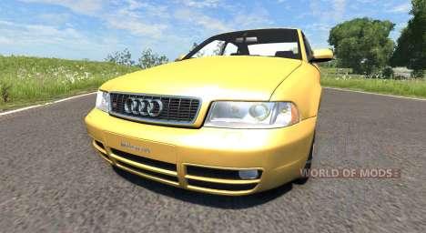 Audi S4 2000 [Pantone 804 C] pour BeamNG Drive
