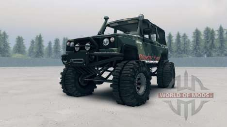 UAZ-3172 pour Spin Tires