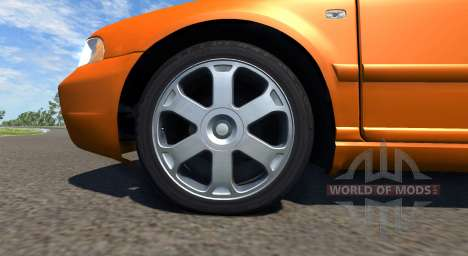 Audi S4 2000 [Pantone Orange 021 C] pour BeamNG Drive