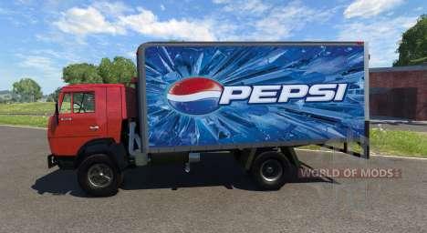KamAZ-5325 Pepsi pour BeamNG Drive