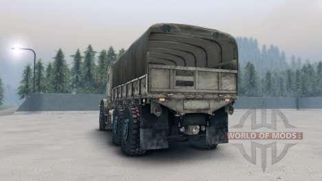 Oshkosh MTVR MK23 wheels v1 pour Spin Tires