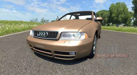 Audi S4 2000 [Pantone 876 C] für BeamNG Drive