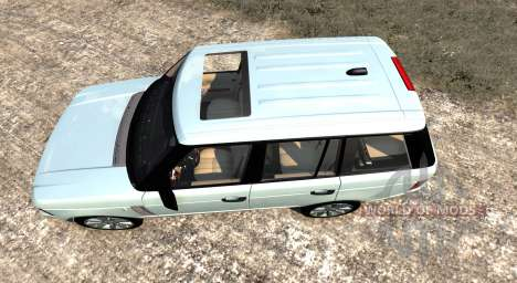 Range Rover Supercharged 2008 [White] für BeamNG Drive