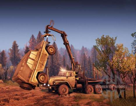 Hisst die crane-manipulator für Spin Tires