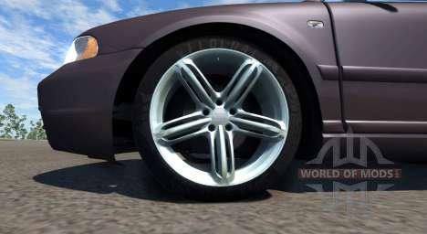Audi S4 2000 [Pantone Black 5 C] für BeamNG Drive