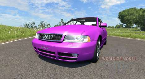 Audi S4 2000 [Pantone Purple C] für BeamNG Drive
