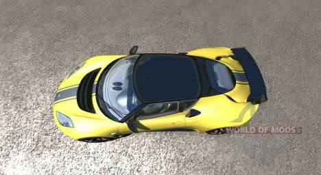 Lotus Evora GTE 2011 [Yellow] pour BeamNG Drive