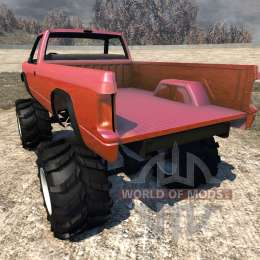 gavril d series monster truck v2 f r beamng drive. Black Bedroom Furniture Sets. Home Design Ideas