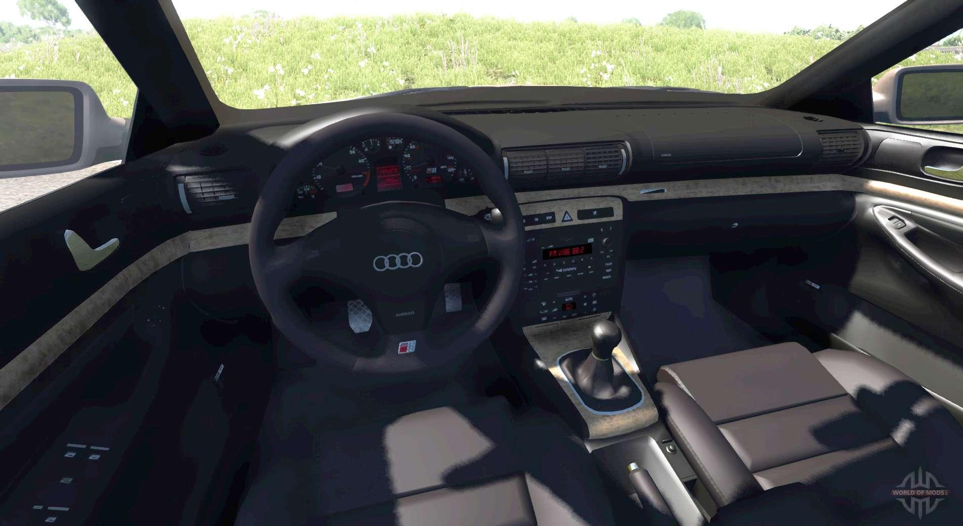 Audi S4 2000 Pantone 876 C Pour Beamng Drive