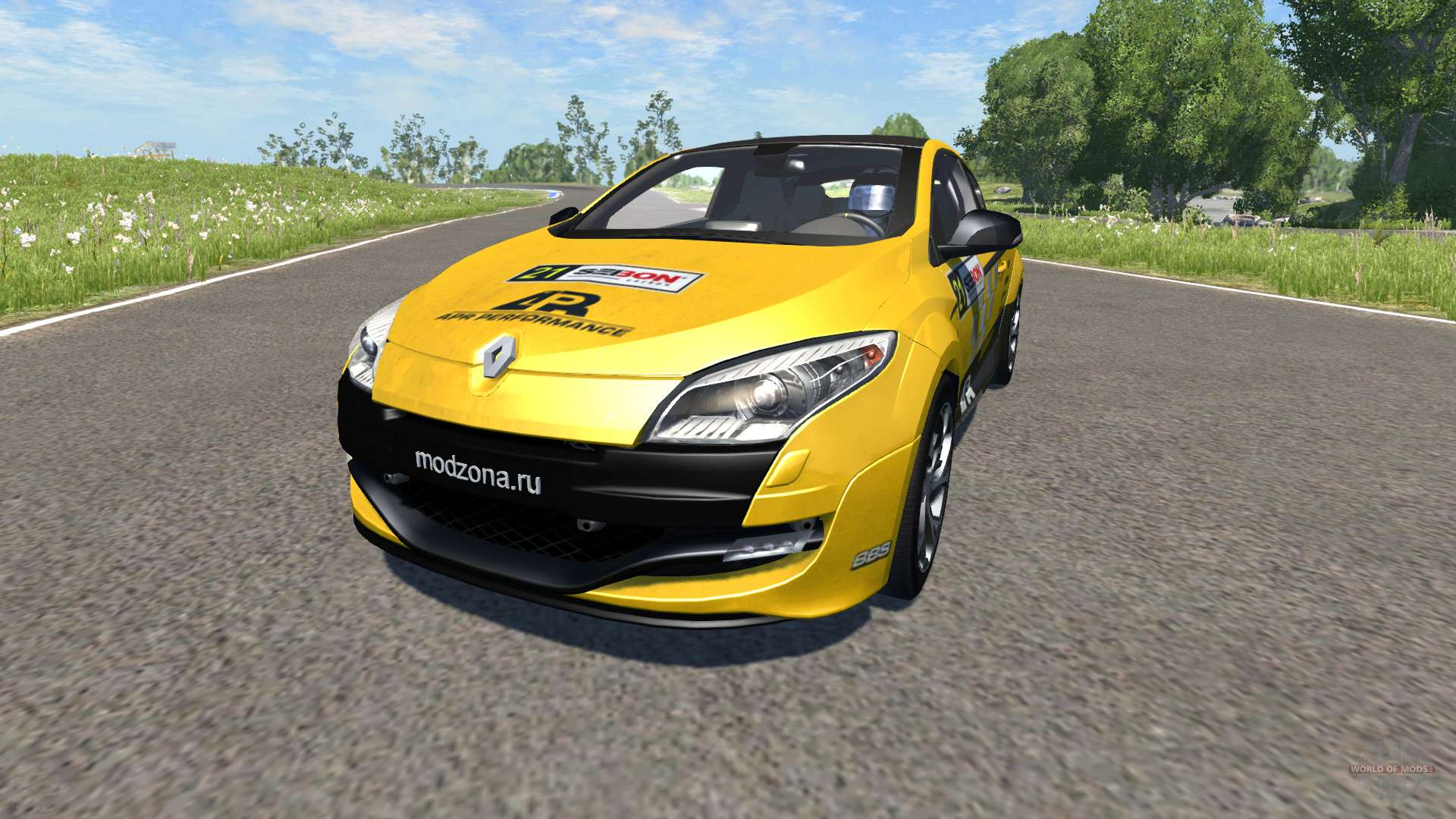 renault megane rs pour beamng drive. Black Bedroom Furniture Sets. Home Design Ideas