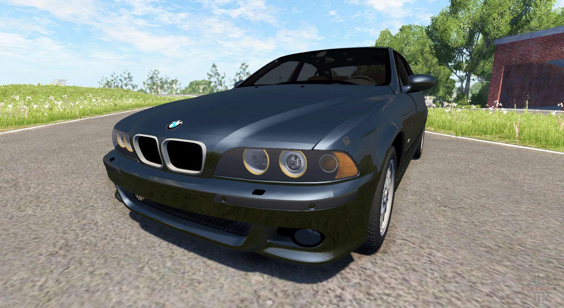 Bmw M5 E39 F 252 R Beamng Drive