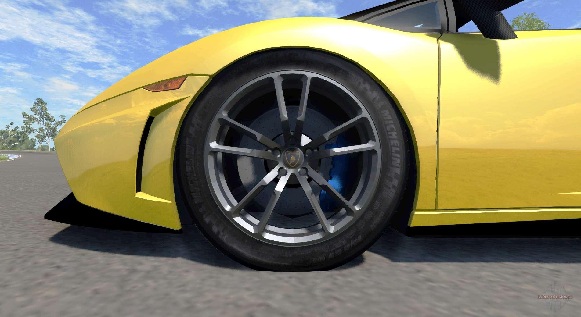 Lamborghini gallardo lp570 4 spyder v1 1 pour beamng drive for Karting exterieur 92