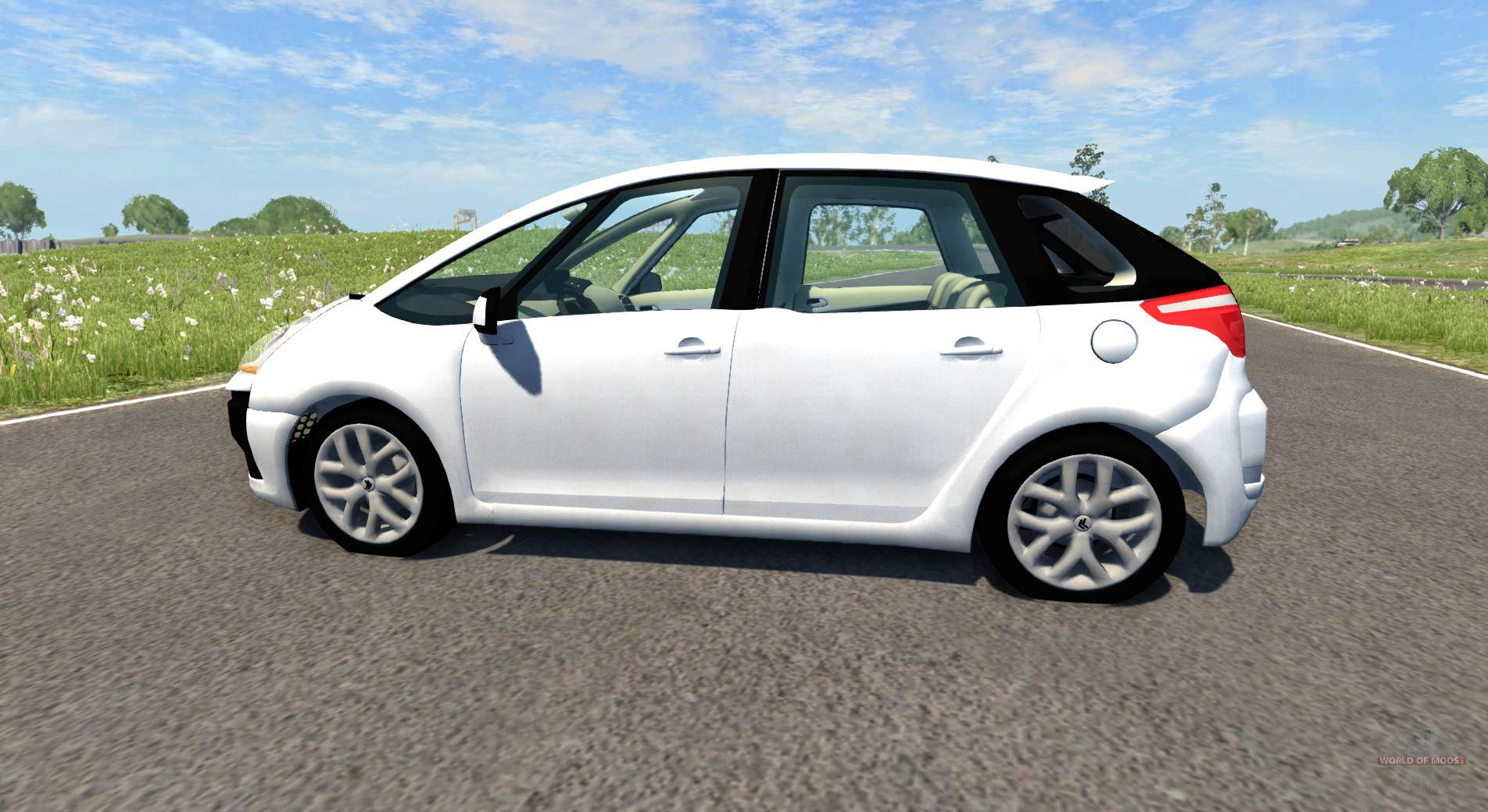 citroen c4 picasso pour beamng drive. Black Bedroom Furniture Sets. Home Design Ideas