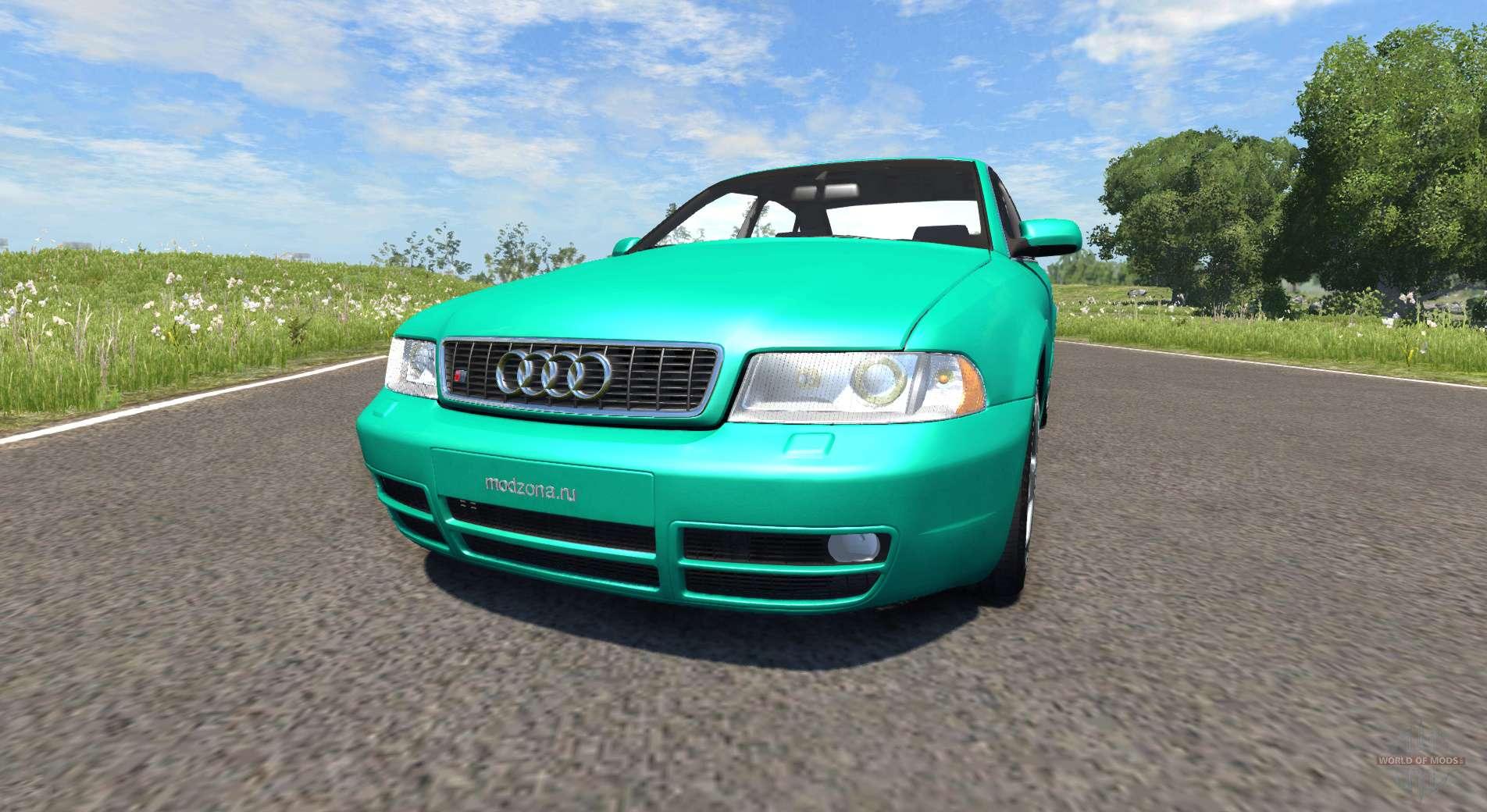Audi S4 2000 Pantone Green C Pour Beamng Drive