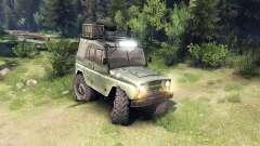 Der UAZ-469 Fahrzeug