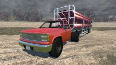Gavril D-Series full size logging trailer
