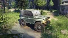 УАЗ-469 de Camion de Monstre