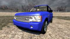 Range Rover Supercharged 2008 [Blue]