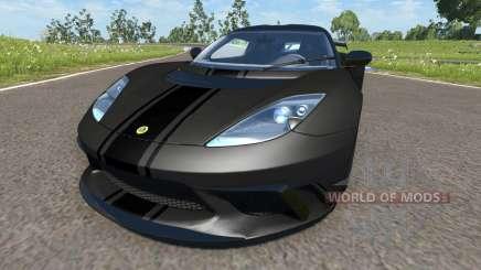 Lotus Evora GTE 2011 [Black] pour BeamNG Drive