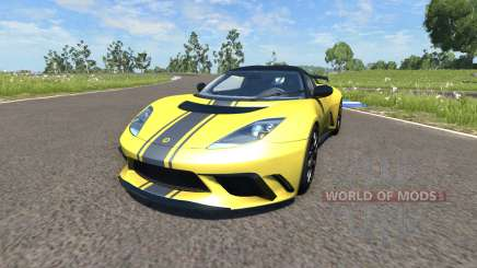 Lotus Evora GTE 2011 [Yellow] für BeamNG Drive