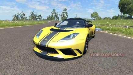 Lotus Evora GTE 2011 [Yellow] pour BeamNG Drive