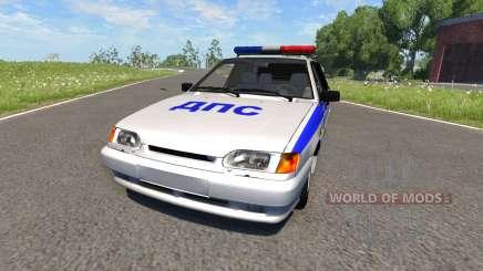 VAZ-2115 Police pour BeamNG Drive