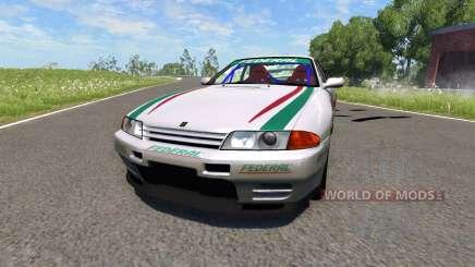 Nissan Skyline R32 für BeamNG Drive