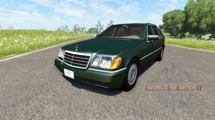 Mercedes-Benz S600 AMG pour BeamNG Drive