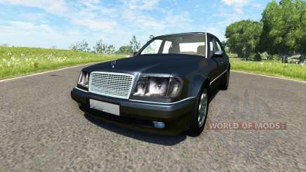 Mercedes-Benz E500 W124 pour BeamNG Drive