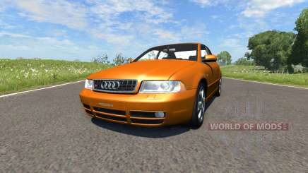 Audi S4 2000 [Pantone 718 C] pour BeamNG Drive