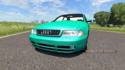 Audi S4 2000 [Pantone Green C] pour BeamNG Drive