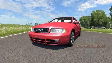 Audi S4 2000 [Pantone Red 032 C] für BeamNG Drive
