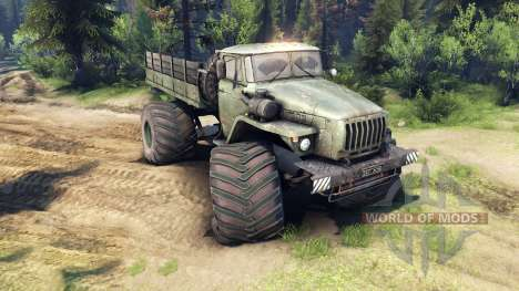 Ural-4320 Polarforscher v1.1 für Spin Tires