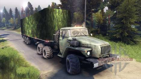 Semi-camouflage pour Spin Tires