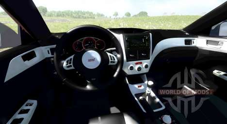 Subaru Impreza WRX STI 2011 für BeamNG Drive