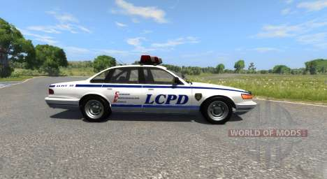 Vapid Police Cruiser pour BeamNG Drive