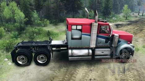 Western Star 4900 LowMax für Spin Tires
