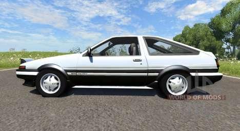 Toyota AE86 Sprinter Trueno pour BeamNG Drive