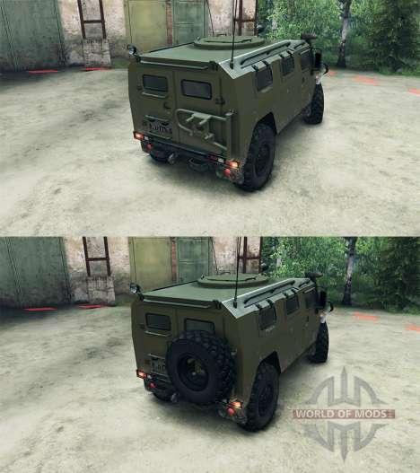 GAZ-2975 Tiger für Spin Tires