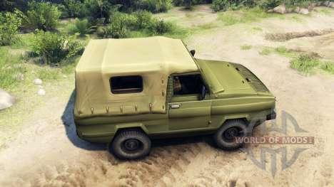 UAZ-3907 pour Spin Tires