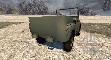 Der UAZ-469 für BeamNG Drive