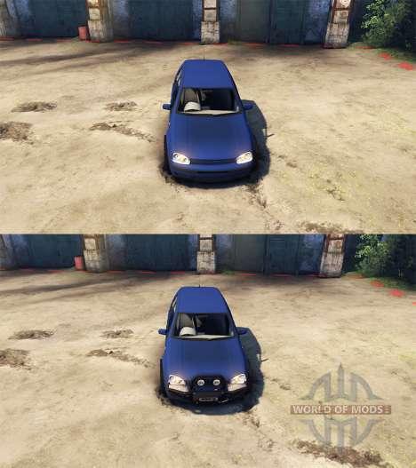 Volkswagen Golf IV für Spin Tires
