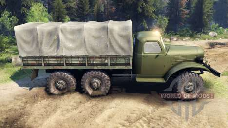 ZIL-157K pour Spin Tires