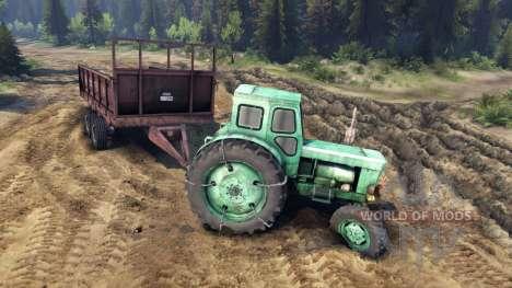 Remorque pour tracteur T-AM pour Spin Tires