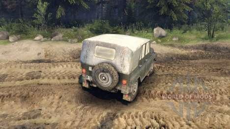 L'UAZ-469 pour Spin Tires