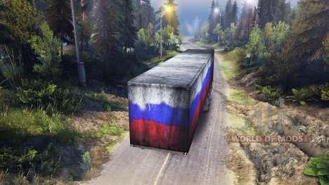 Auflieger Russland für Spin Tires