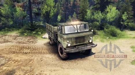 GAZ-66 v1.3 für Spin Tires