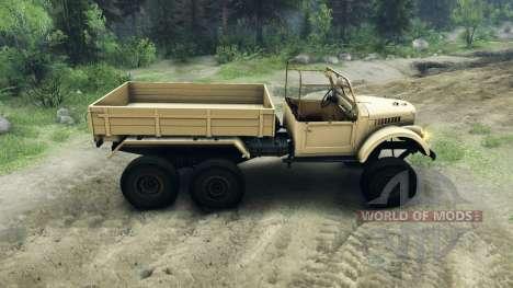 UAZ-456 für Spin Tires