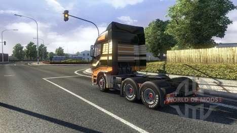 Physique réaliste v1.3 pour Euro Truck Simulator 2