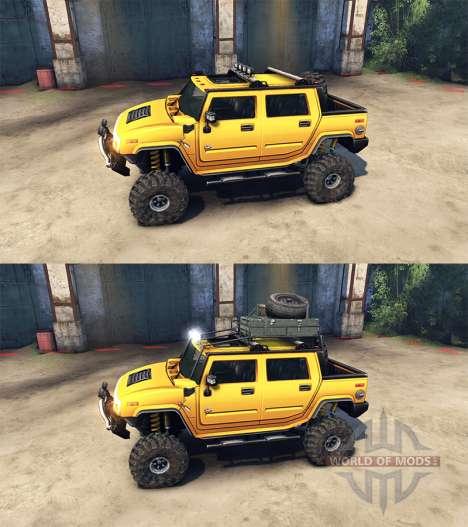 Hummer H2 SUT für Spin Tires